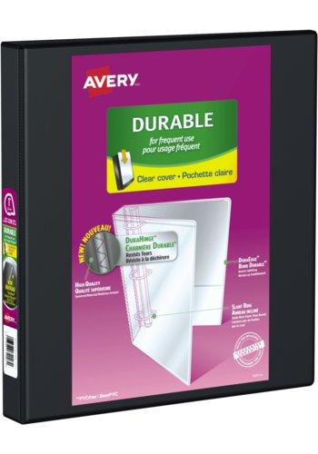 Avery® 34003 - Reliure de présentation Durable,  Dit 8½ in.x 11in. Papier, Noir