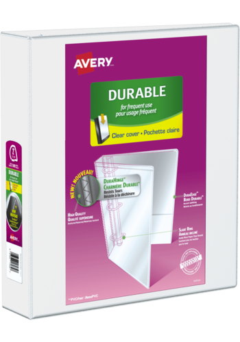 Avery<sup>®</sup> Durable View Binder - Avery<sup>®</sup> Durable View Binder