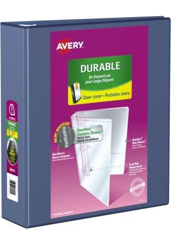 Avery® 17044 - Reliure de présentation Durable,  Dit 8½ in.x 11in. Papier, Bleu Marine