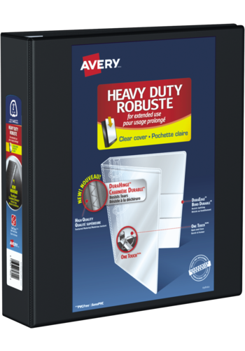 Avery<sup>®</sup> Heavy Duty View Binder - Avery<sup>®</sup> Heavy Duty View Binder