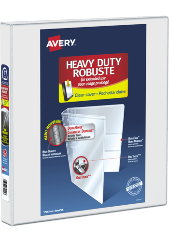 Avery<sup>&reg;</sup> Heavy Duty View Binder - Avery<sup>&reg;</sup> Heavy Duty View Binder