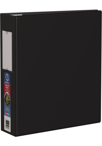 Avery® 79993 - Heavy Duty Binder,  Holds 8-1/2in. x 11in. Paper, Black