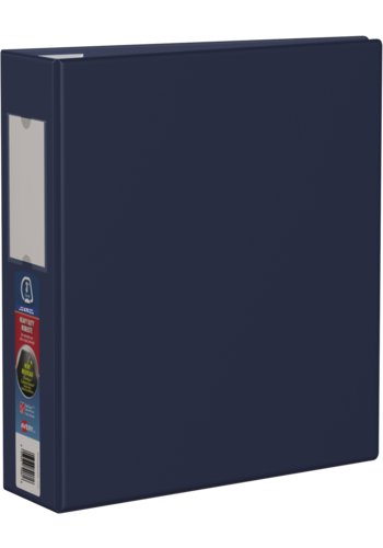 Avery® 79961 - Heavy Duty Binder,  Holds 8-1/2in. x 11in. Paper, Navy