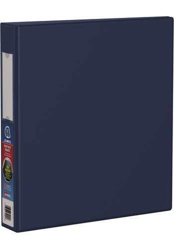 Avery® 79941 - Reliure robuste,  Holds 8-1/2in. x 11in. Paper, Bleu Marine