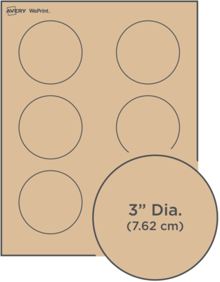 Custom Printed Round Labels