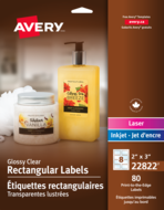 Avery<sup>&reg;</sup> Print-to-the-Edge Rectangular Labels 22822