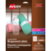Avery<sup>®</sup> Étiquettes enveloppantes Durables pour imprimantes à laser ou jet d'encre - Avery<sup>®</sup> Étiquettes enveloppantes Durables