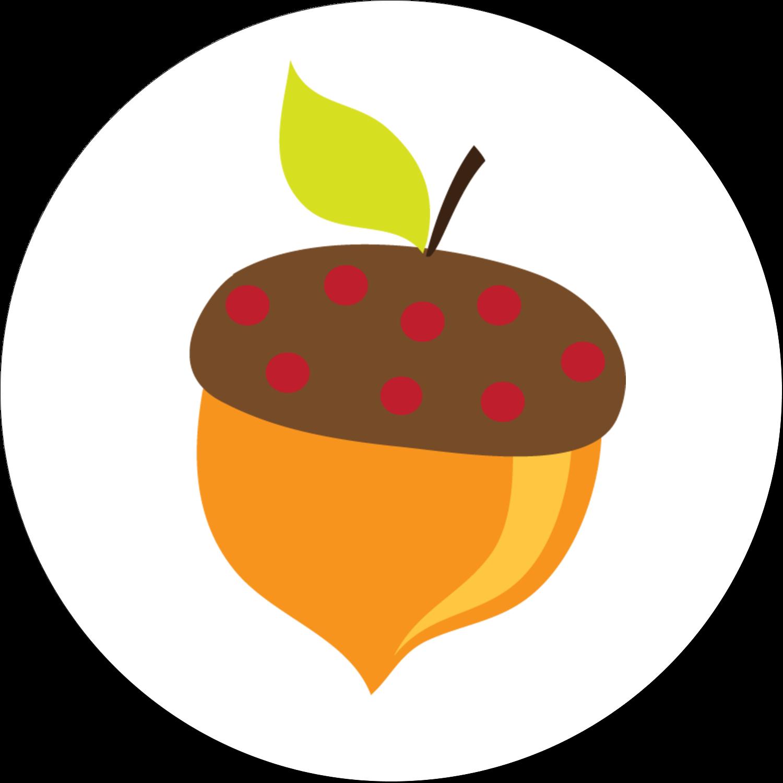 Branche de glands Étiquettes Voyantes - gabarit prédéfini. <br/>Utilisez notre logiciel Avery Design & Print Online pour personnaliser facilement la conception.