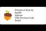 Branche de glands Étiquettes D'Adresse - gabarit prédéfini. <br/>Utilisez notre logiciel Avery Design & Print Online pour personnaliser facilement la conception.