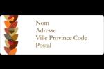 Couronne de glands Étiquettes D'Adresse - gabarit prédéfini. <br/>Utilisez notre logiciel Avery Design & Print Online pour personnaliser facilement la conception.
