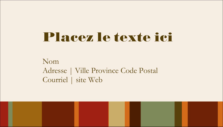 """2"""" x 3½"""" Carte d'affaire - Couronne de glands"""