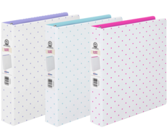 mini dots binders