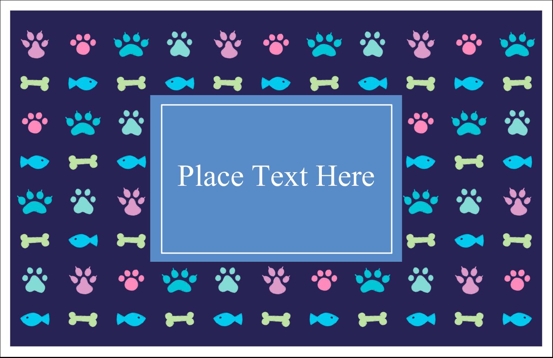 "5½"" x 8½"" Greeting Card - Furry Friends"