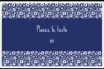 Petit bouquet bleu Cartes Et Articles D'Artisanat Imprimables - gabarit prédéfini. <br/>Utilisez notre logiciel Avery Design & Print Online pour personnaliser facilement la conception.