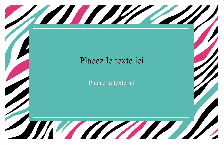 """8½"""" x 11"""" Cartes Et Articles D'Artisanat Imprimables - Empreintes d'animaux"""
