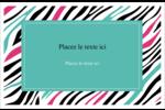 Empreintes d'animaux Cartes Et Articles D'Artisanat Imprimables - gabarit prédéfini. <br/>Utilisez notre logiciel Avery Design & Print Online pour personnaliser facilement la conception.