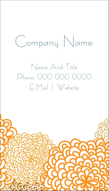 "3½"" x 2"" Business Card - Bookplate Generic"
