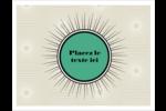 Explosion de vert Cartes Et Articles D'Artisanat Imprimables - gabarit prédéfini. <br/>Utilisez notre logiciel Avery Design & Print Online pour personnaliser facilement la conception.