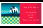 Surf tropical Carte d'affaire - gabarit prédéfini. <br/>Utilisez notre logiciel Avery Design & Print Online pour personnaliser facilement la conception.