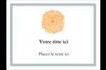 Ex-libris générique  Badges - gabarit prédéfini. <br/>Utilisez notre logiciel Avery Design & Print Online pour personnaliser facilement la conception.