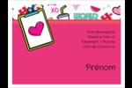 Supermotifs Badges - gabarit prédéfini. <br/>Utilisez notre logiciel Avery Design & Print Online pour personnaliser facilement la conception.