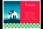 Surf tropical Badges - gabarit prédéfini. <br/>Utilisez notre logiciel Avery Design & Print Online pour personnaliser facilement la conception.