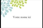 Fleurs bleues et vertes Étiquettes à codage couleur - gabarit prédéfini. <br/>Utilisez notre logiciel Avery Design & Print Online pour personnaliser facilement la conception.