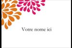 Fête prénuptiale en rose et orange Étiquettes à codage couleur - gabarit prédéfini. <br/>Utilisez notre logiciel Avery Design & Print Online pour personnaliser facilement la conception.
