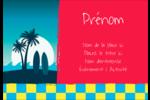 Surf tropical Étiquettes à codage couleur - gabarit prédéfini. <br/>Utilisez notre logiciel Avery Design & Print Online pour personnaliser facilement la conception.