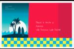 Surf tropical Étiquettes d'adresse - gabarit prédéfini. <br/>Utilisez notre logiciel Avery Design & Print Online pour personnaliser facilement la conception.
