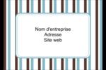 Rayures bleues Étiquettes D'Identification - gabarit prédéfini. <br/>Utilisez notre logiciel Avery Design & Print Online pour personnaliser facilement la conception.