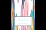Gros motifs floraux Reliures - gabarit prédéfini. <br/>Utilisez notre logiciel Avery Design & Print Online pour personnaliser facilement la conception.