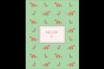 Entretien renard-lièvre  Reliures - gabarit prédéfini. <br/>Utilisez notre logiciel Avery Design & Print Online pour personnaliser facilement la conception.