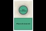 Explosion de vert Reliures - gabarit prédéfini. <br/>Utilisez notre logiciel Avery Design & Print Online pour personnaliser facilement la conception.