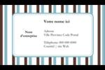 Rayures bleues Cartes Pour Le Bureau - gabarit prédéfini. <br/>Utilisez notre logiciel Avery Design & Print Online pour personnaliser facilement la conception.