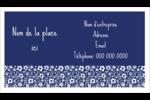 Petit bouquet bleu Cartes Pour Le Bureau - gabarit prédéfini. <br/>Utilisez notre logiciel Avery Design & Print Online pour personnaliser facilement la conception.