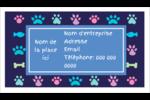 Amis poilus Cartes Pour Le Bureau - gabarit prédéfini. <br/>Utilisez notre logiciel Avery Design & Print Online pour personnaliser facilement la conception.