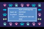Amis poilus Carte d'affaire - gabarit prédéfini. <br/>Utilisez notre logiciel Avery Design & Print Online pour personnaliser facilement la conception.
