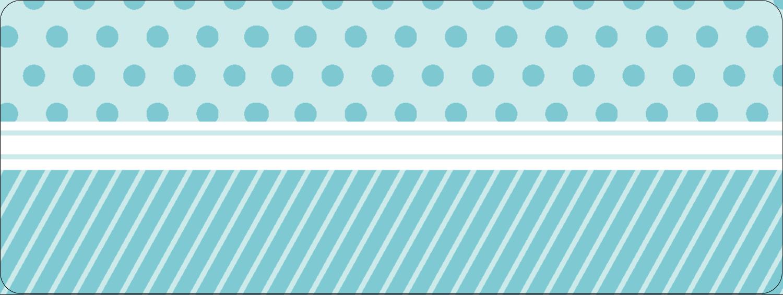 """1½"""" x 4"""" Étiquettes D'Adresse - Figurines d'oiseau bleu pour gâteau de noces"""