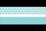 Figurines d'oiseau bleu pour gâteau de noces Étiquettes D'Adresse - gabarit prédéfini. <br/>Utilisez notre logiciel Avery Design & Print Online pour personnaliser facilement la conception.