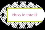 Damas décoratif Étiquettes carrées - gabarit prédéfini. <br/>Utilisez notre logiciel Avery Design & Print Online pour personnaliser facilement la conception.