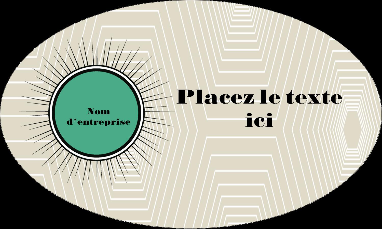 """1½"""" x 1½"""" Étiquettes carrées - Explosion de vert"""