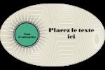 Explosion de vert Étiquettes carrées - gabarit prédéfini. <br/>Utilisez notre logiciel Avery Design & Print Online pour personnaliser facilement la conception.