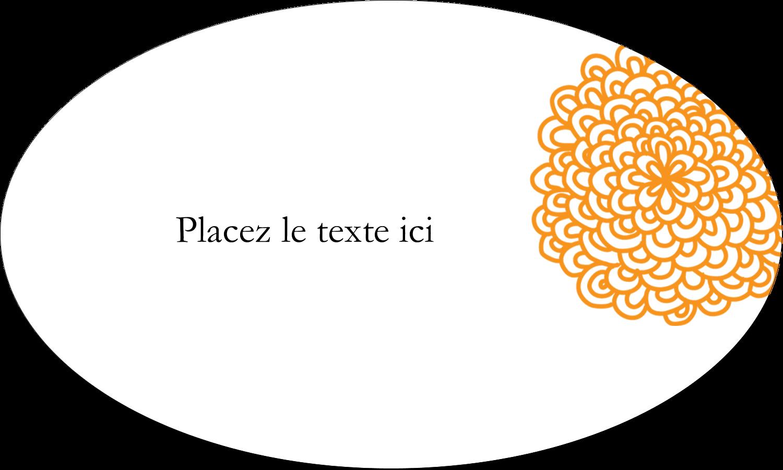 """1½"""" x 1½"""" Étiquettes carrées - Ex-libris générique"""