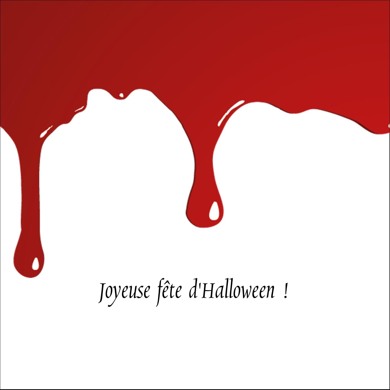 "9¾"" x 1¼"" Étiquettes enveloppantes - Halloween sanglante"
