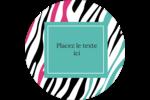 Empreintes d'animaux Étiquettes de classement - gabarit prédéfini. <br/>Utilisez notre logiciel Avery Design & Print Online pour personnaliser facilement la conception.