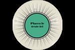 Explosion de vert Étiquettes de classement - gabarit prédéfini. <br/>Utilisez notre logiciel Avery Design & Print Online pour personnaliser facilement la conception.