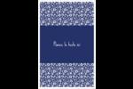 Petit bouquet bleu Reliures - gabarit prédéfini. <br/>Utilisez notre logiciel Avery Design & Print Online pour personnaliser facilement la conception.