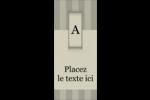 Initiale ex-libris Tickets - gabarit prédéfini. <br/>Utilisez notre logiciel Avery Design & Print Online pour personnaliser facilement la conception.