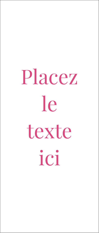 """2"""" x 3½"""" Carte d'affaire - Damas décoratif"""